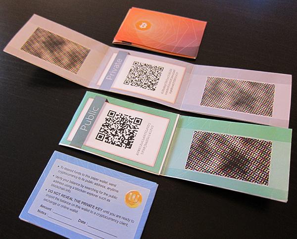 cum să retragi bitcoinii dintr- un portofel de hârtie